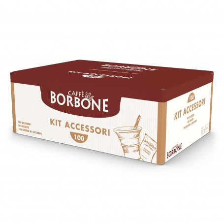 Kit Accessori Borbone 100pz