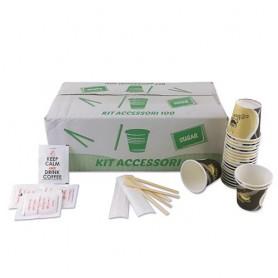 Kit Accessori Bio 100pz