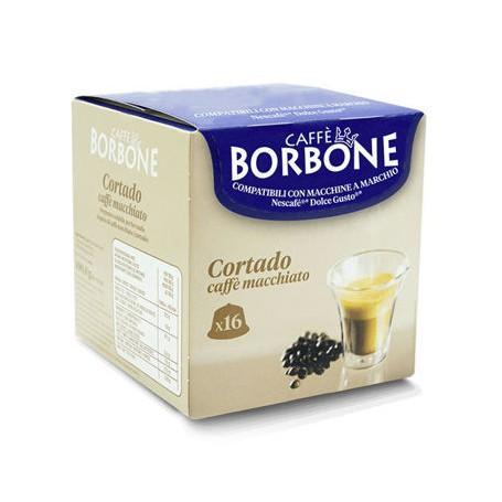 Dolce Gusto Borbone Cortado 16pz