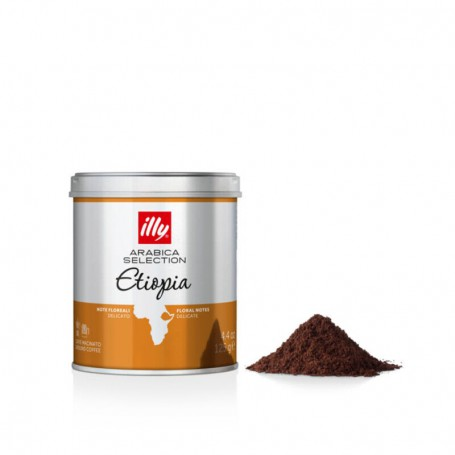 Caffe Macinato Illy Etiopia 125gr